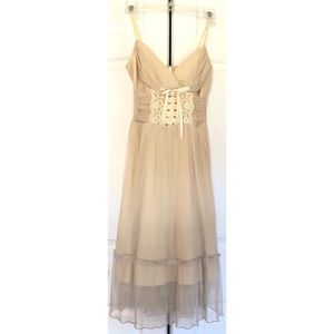 Worn once Corset Dress Steampunk Victorian